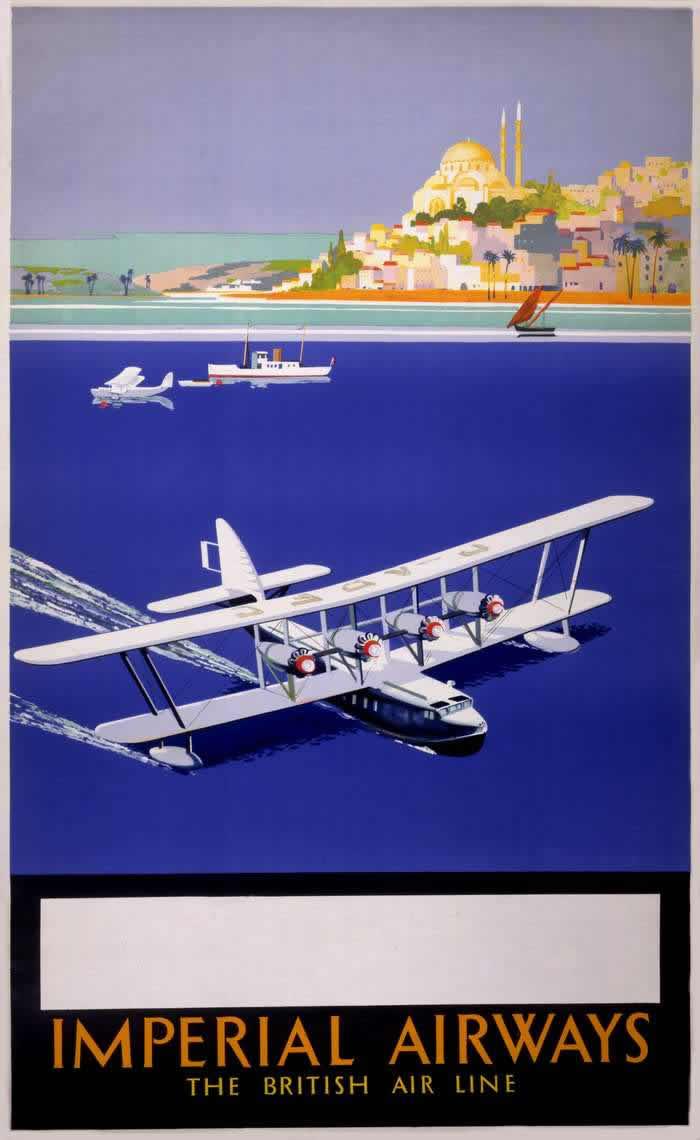 Авиакомпания Imperial Airways - Британские авиалинии (1933 год)