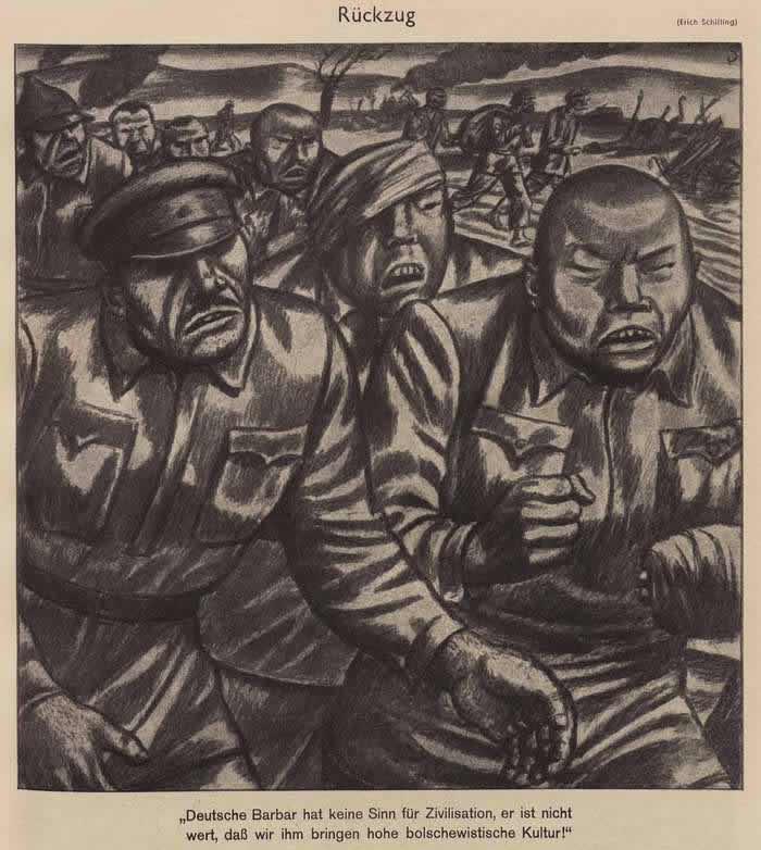 Самоуспокаивающие мысли отступающих большевиков (Simplicissimus)