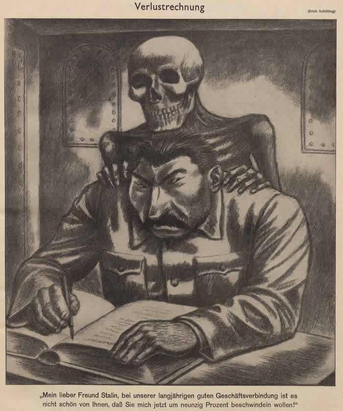 Умопомрачение у Сталина (Simplicissimus)