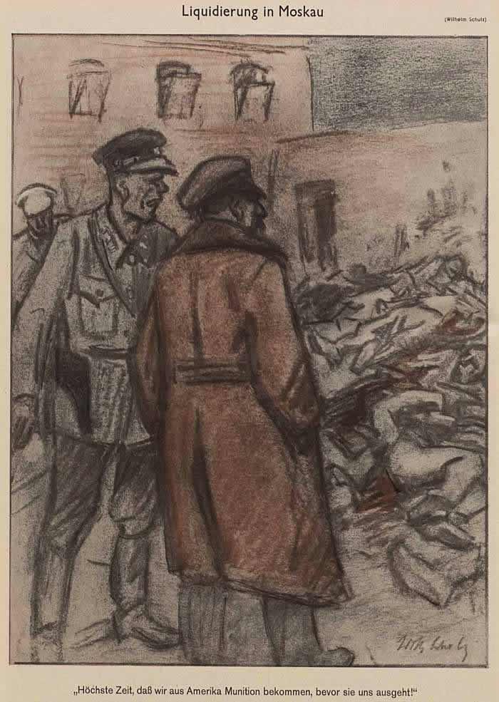 Ликвидация населения в Москве (Simplicissimus)
