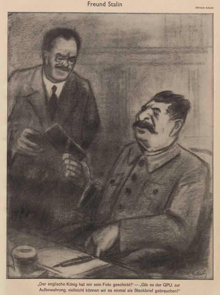Друг Сталин (Simplicissimus)