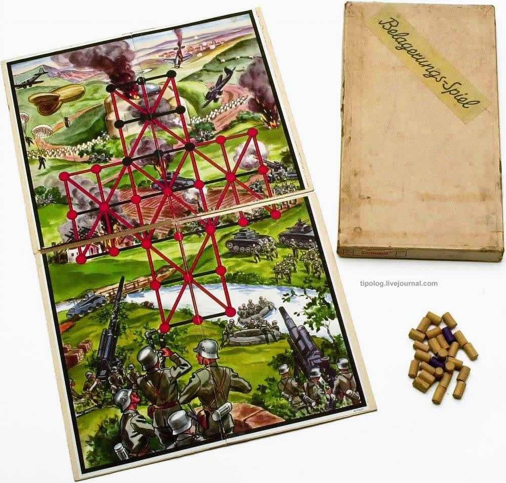 Стремительное наступление - настольная игра (1941 год)
