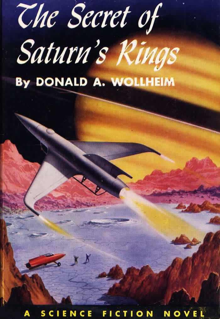 Обложка книги Дональда Уоллхайма - The Secret of Saturn's Rings - (Секрет колец Сатурна)