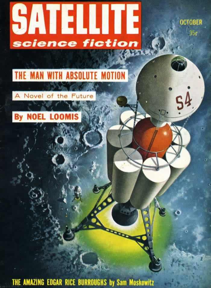Абсолютная свобода перемещения - обложка журнала - Satellite - октябрь 1958 года