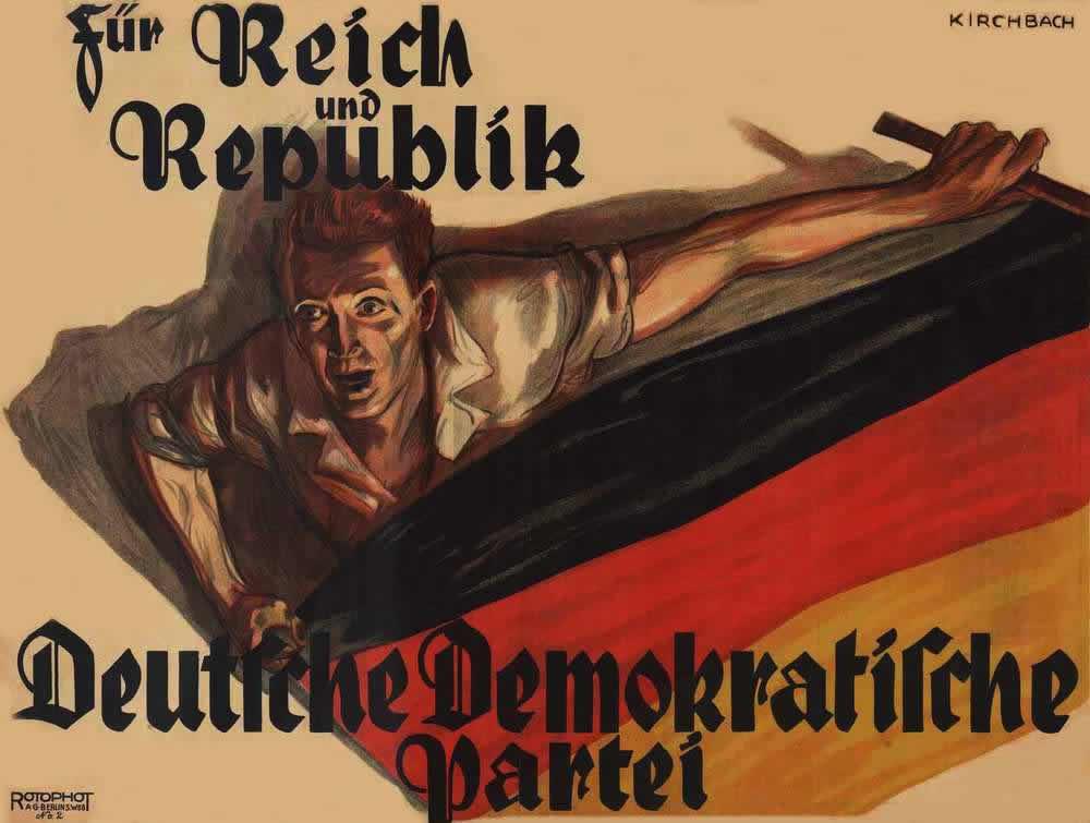 За страну и республику - Немецкая демократическая партия (1924 год)
