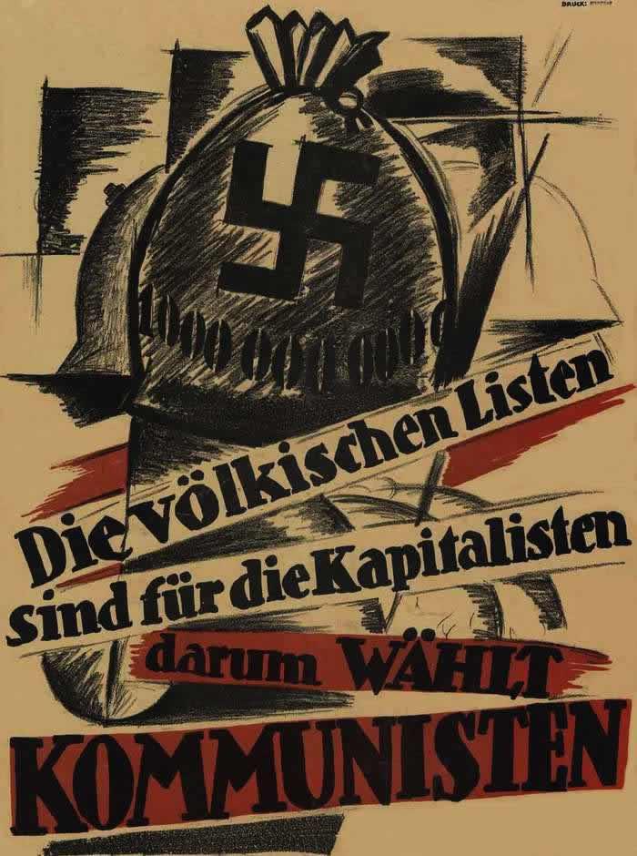Народные голоса могут достаться капиталистам - поэтому голосуйте за коммунистов (1924 год)