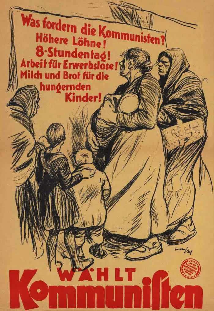 Что требуют коммунисты - голосуйте за коммунистов (1924 год)
