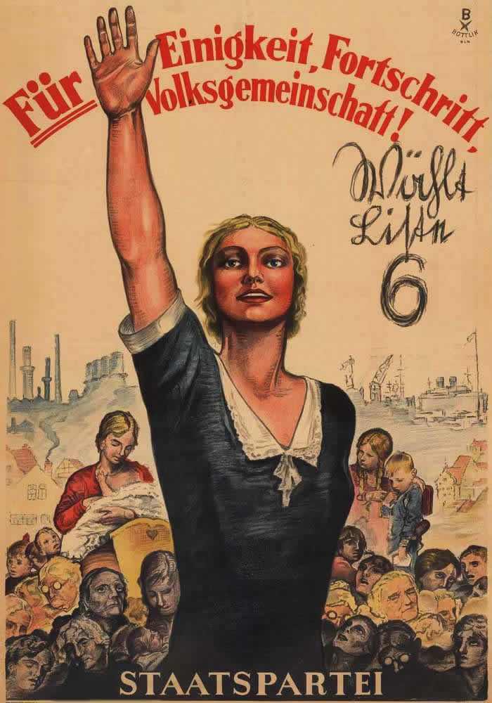 Немецкая демократическая партия за достижение общественного согласия, прогресса и народного единства (1930 год)