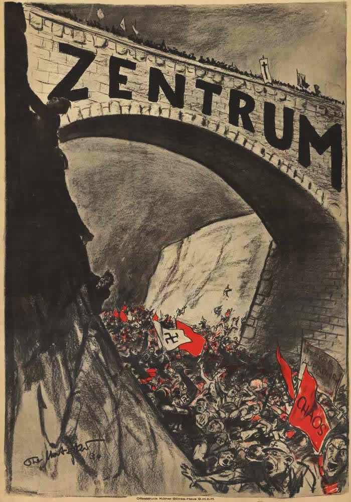 Партия католического Центра - мост над пропастью хаоса (1930 год)