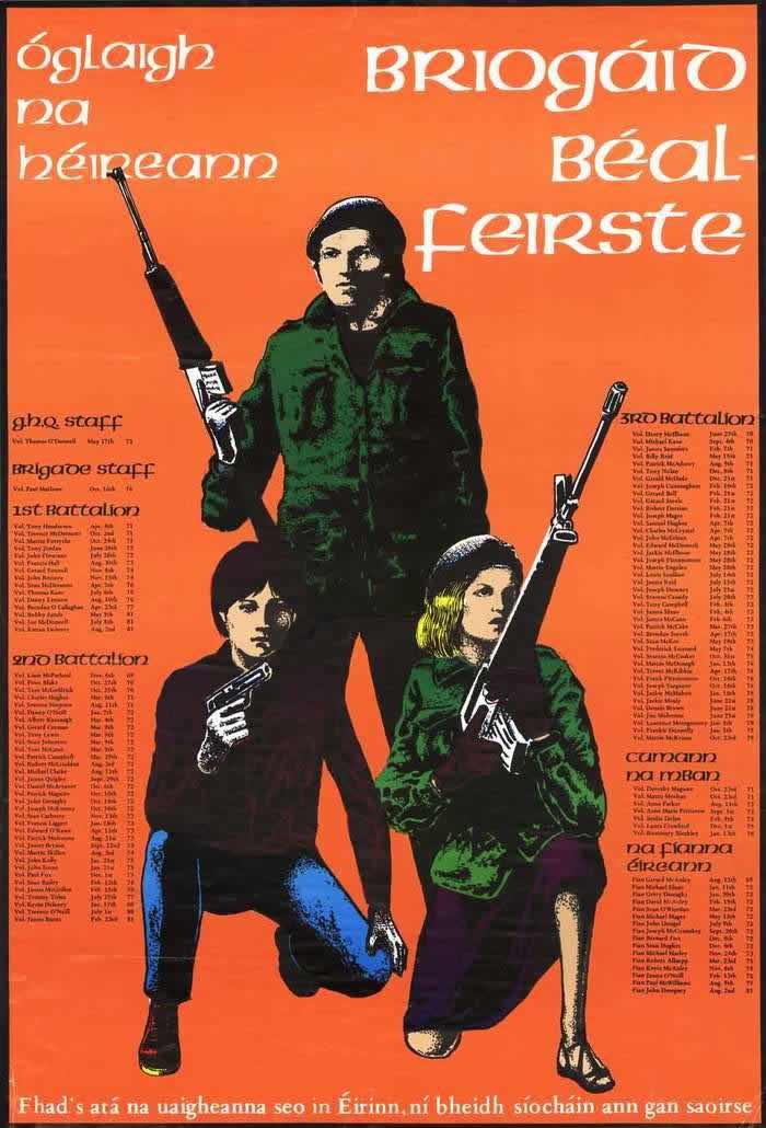 Плакаты ирландской республиканской
