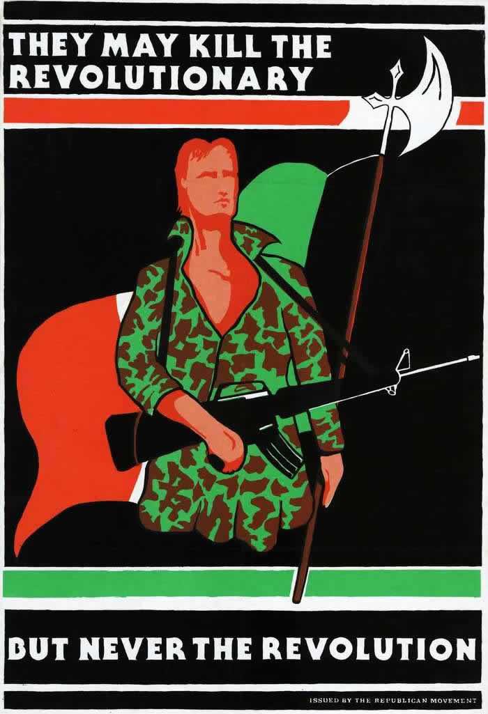 Они могут убить революционера, но никогда не смогут убить революцию (1970-е годы)