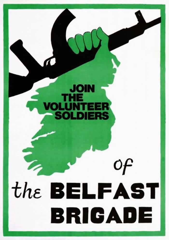Присоединяйтесь к добровольным солдатам из бригады Белфаста (1970-е годы)