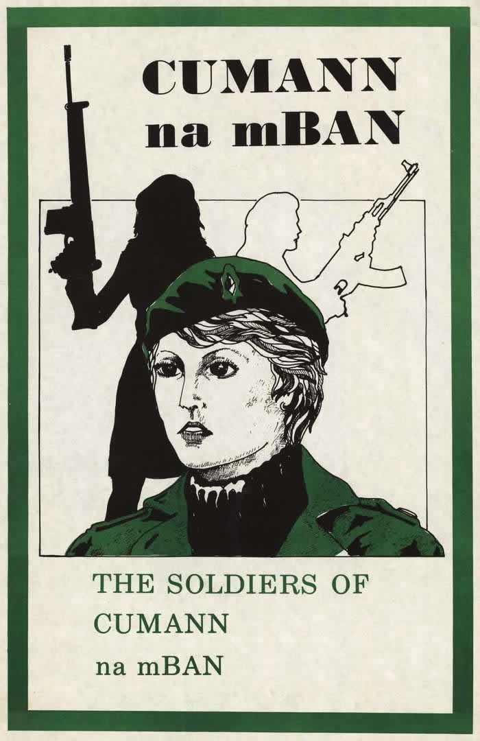 Солдаты ирландской женской военизированной ассоциации (1970-е годы)