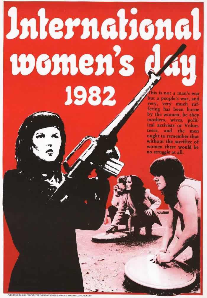 Международный женский день (от ирландской женской военизированной ассоциации) (1982 год)