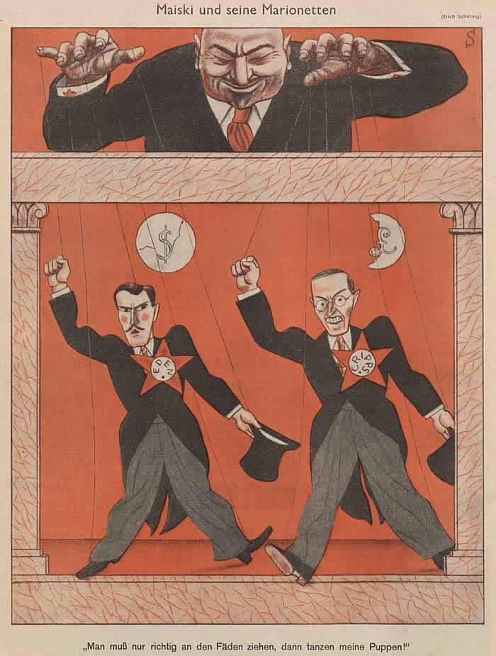 Майский (посол СССР в Великобритании) и его марионетки (Simplicissimus)