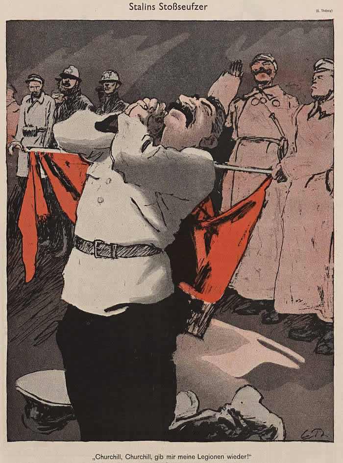 Причитания Сталина (Simplicissimus)