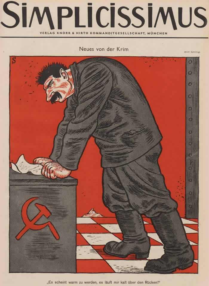 Сталин и новости из Крыма (Simplicissimus)