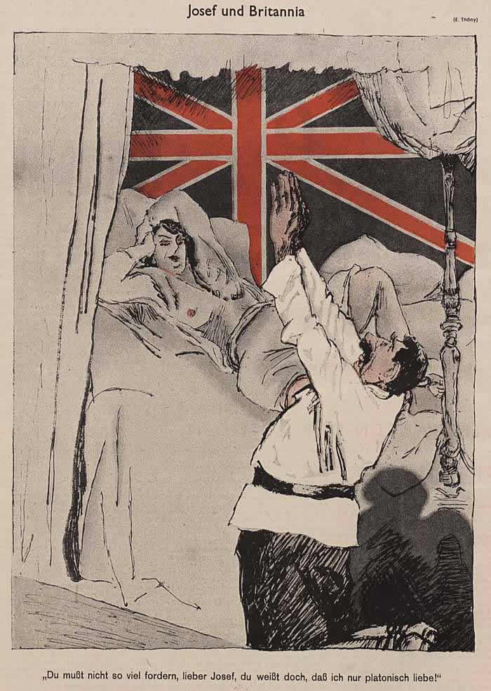 Сталин и Британия (Simplicissimus)