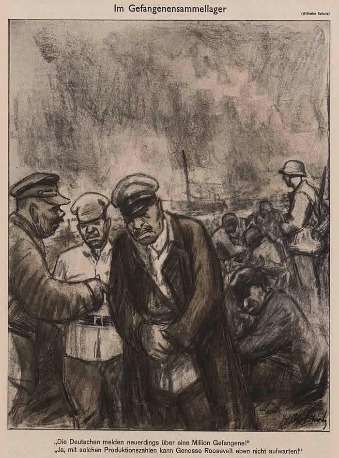 В лагере для военнопленных (Simplicissimus)