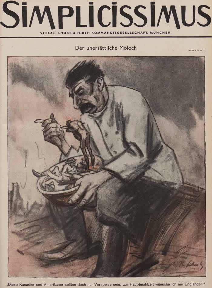 Ненасытный молох Сталин (Simplicissimus)