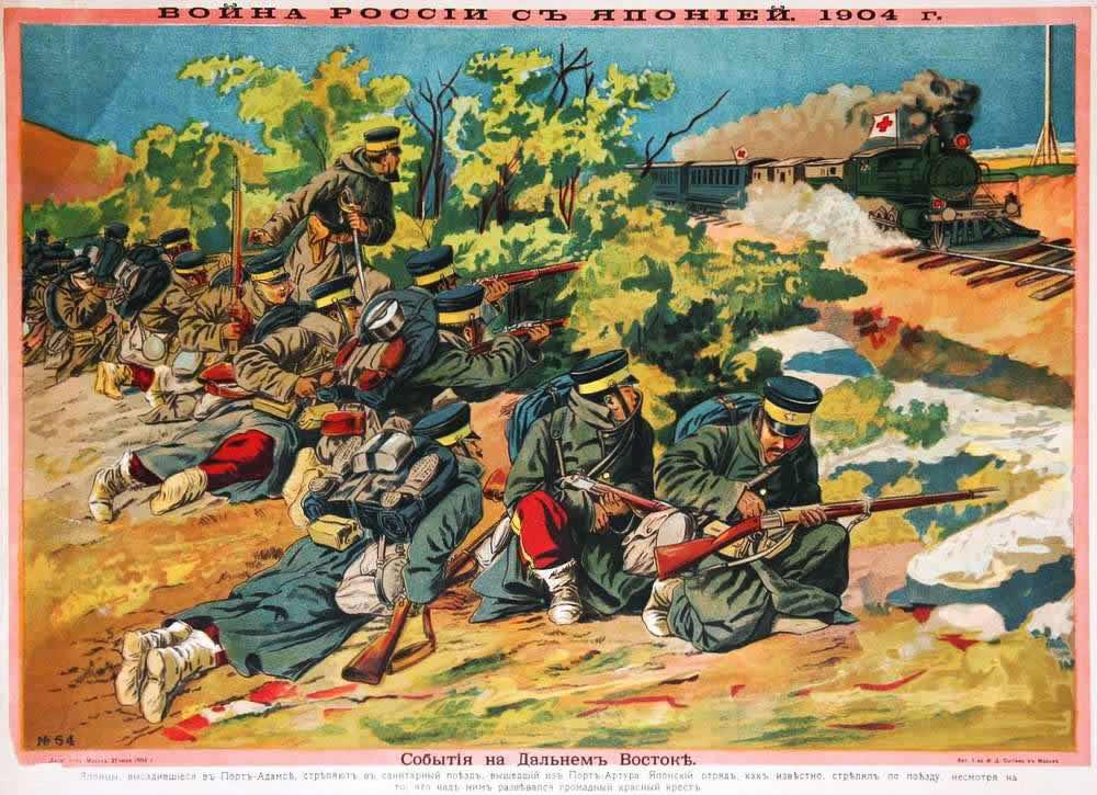 Война России с Японией 1904 год - События на Дальнем Востоке