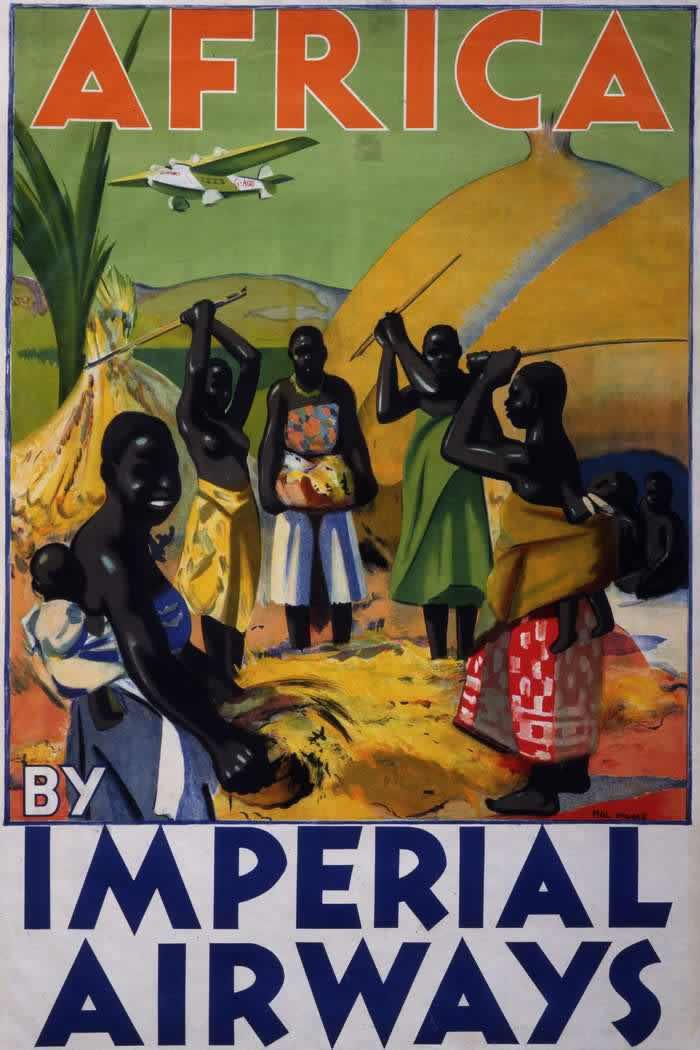 В Африку с авиакомпанией Imperial Airways (1932 год)