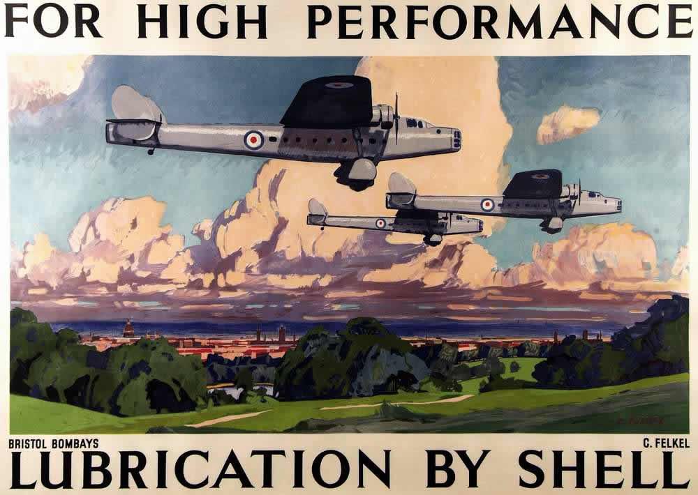 Ради обеспечения высоких показателей - моторные масла компании Shell (1935 год)За высокие показатели - моторные масла компании Shell (1935 год)