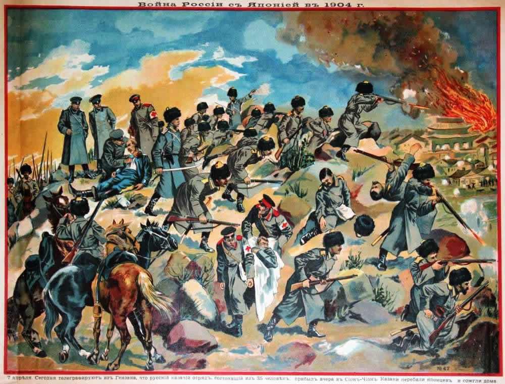 Русско-японская война в картинках