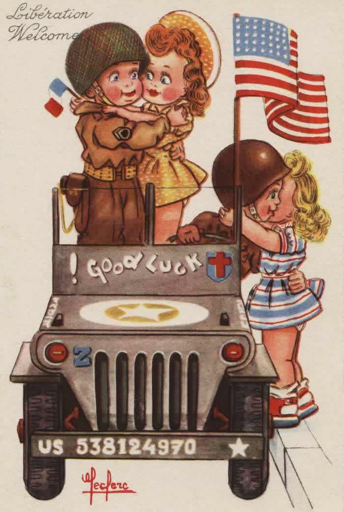Добро пожаловать, освободители! - 1944
