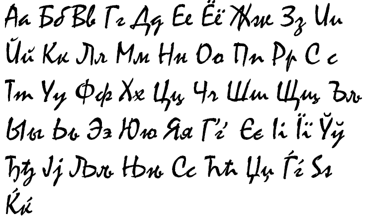 Number Names Worksheets alphabetical cursive : Greek Cursive followup: linguaphiles