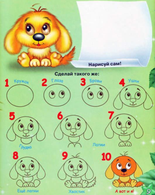 уроки рисования для детей:
