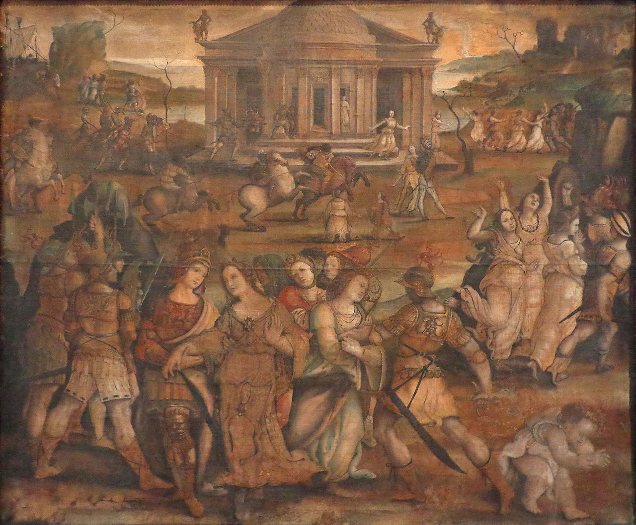 Girolamo_Genga_L'enlèvement_d'Hélène