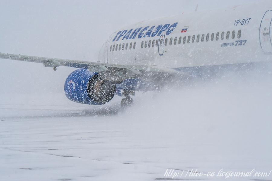 04 Трансаэро поднимает снежную пургу!