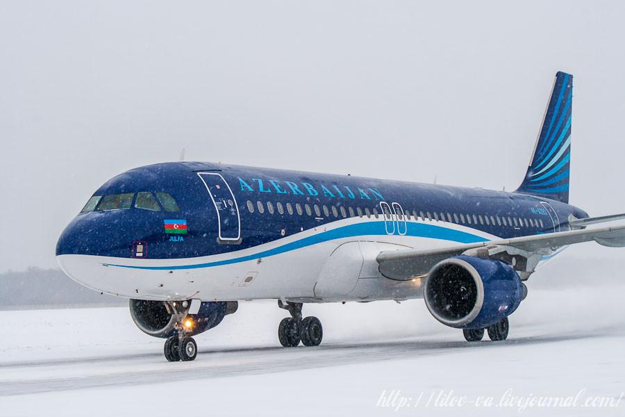 14. A320 из Азербайджана.