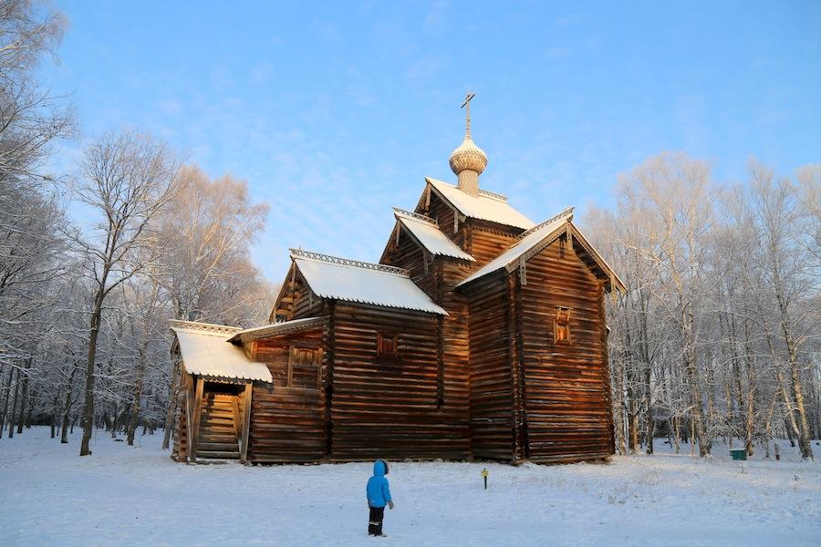 Никольская церковь из деревни Мякишево