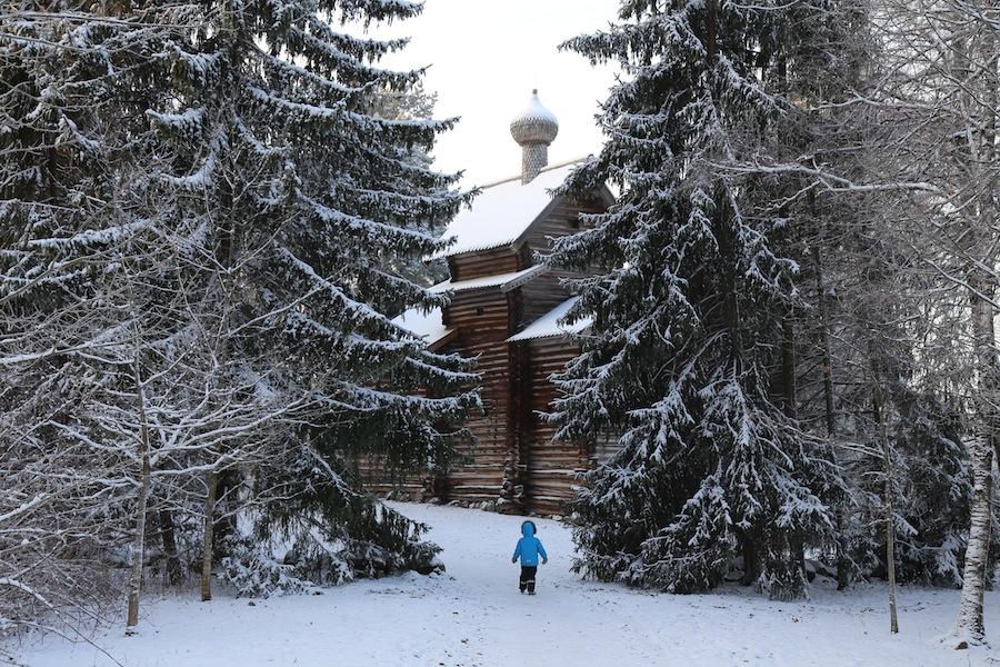 Церковь Николая Чудотворца из деревни Тухоля