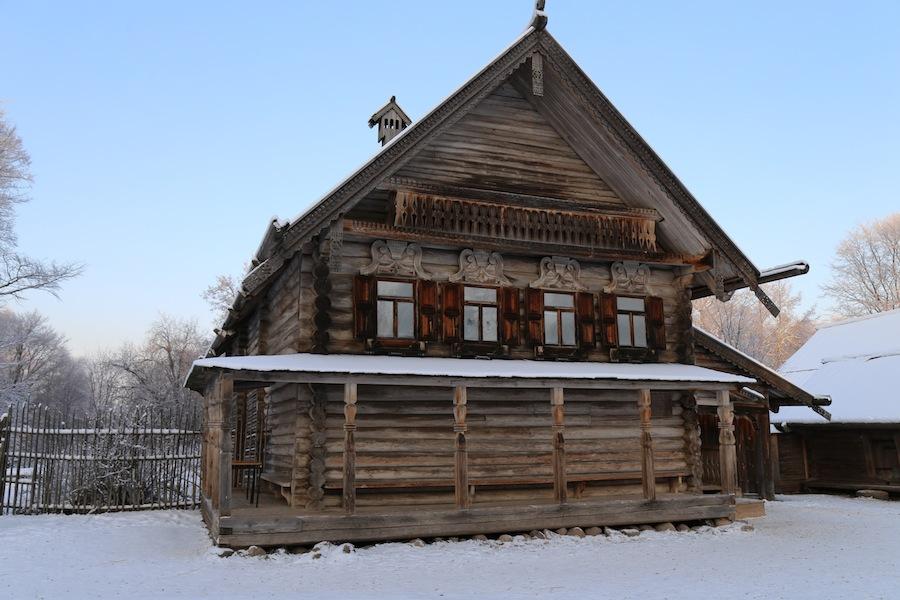 Изба Екимовой из деревни Рышево