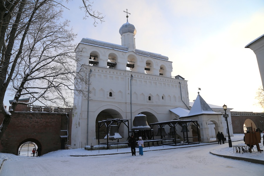 Зво́нница Софийского собора