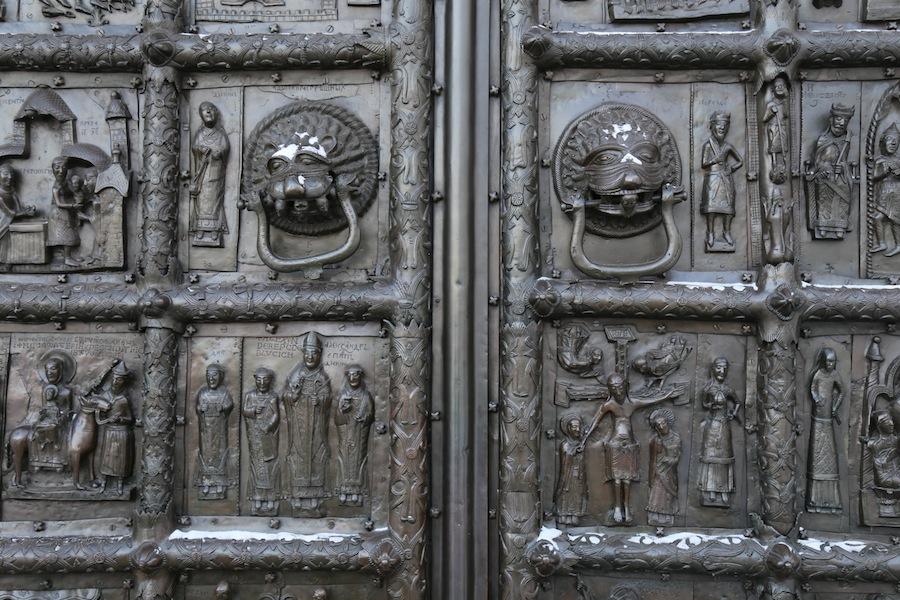 Магдебургские врата в Софийском соборе