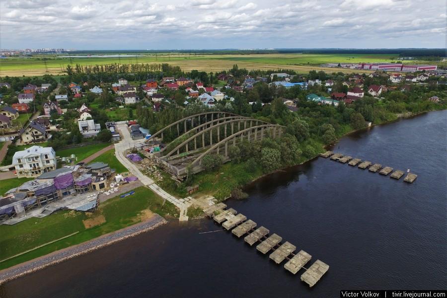 Володарский мост в Новосаратовке
