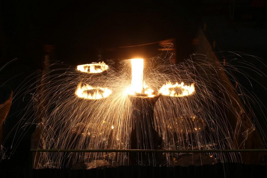 Выплавка стали на ОМЗ