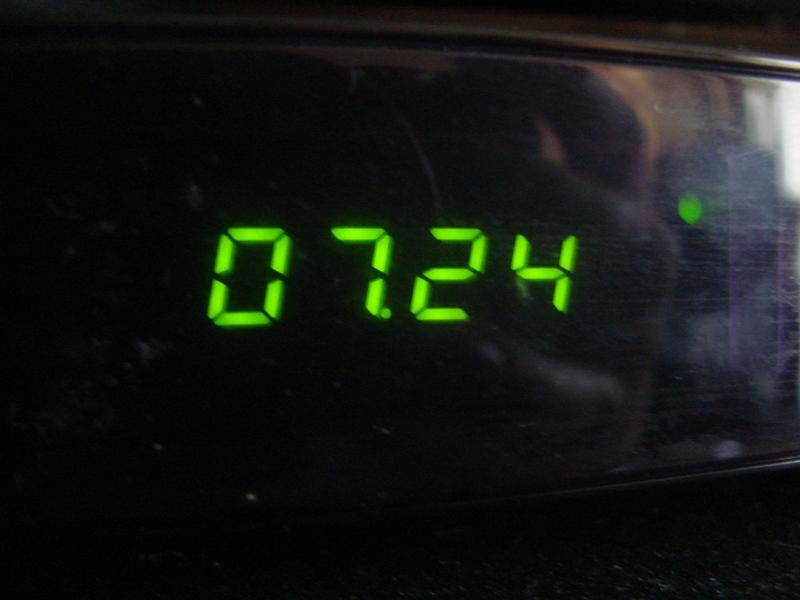 4 на часах 724