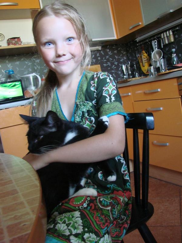 14 Зюка с котом