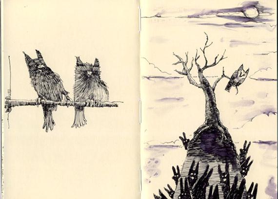 совы полетели