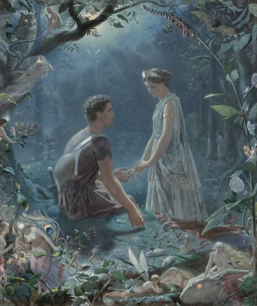 John Simmons - Hermia and Lysander