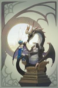дракон и МП играют в шахматы