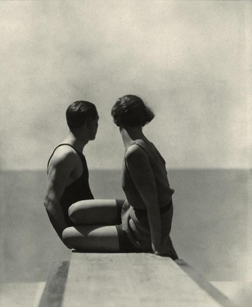 Жорж Хойнинген-Хюен. Ныряльщики. 1930