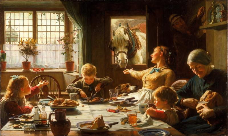 Фредерик Джордж Котман. Член семьи (1880)