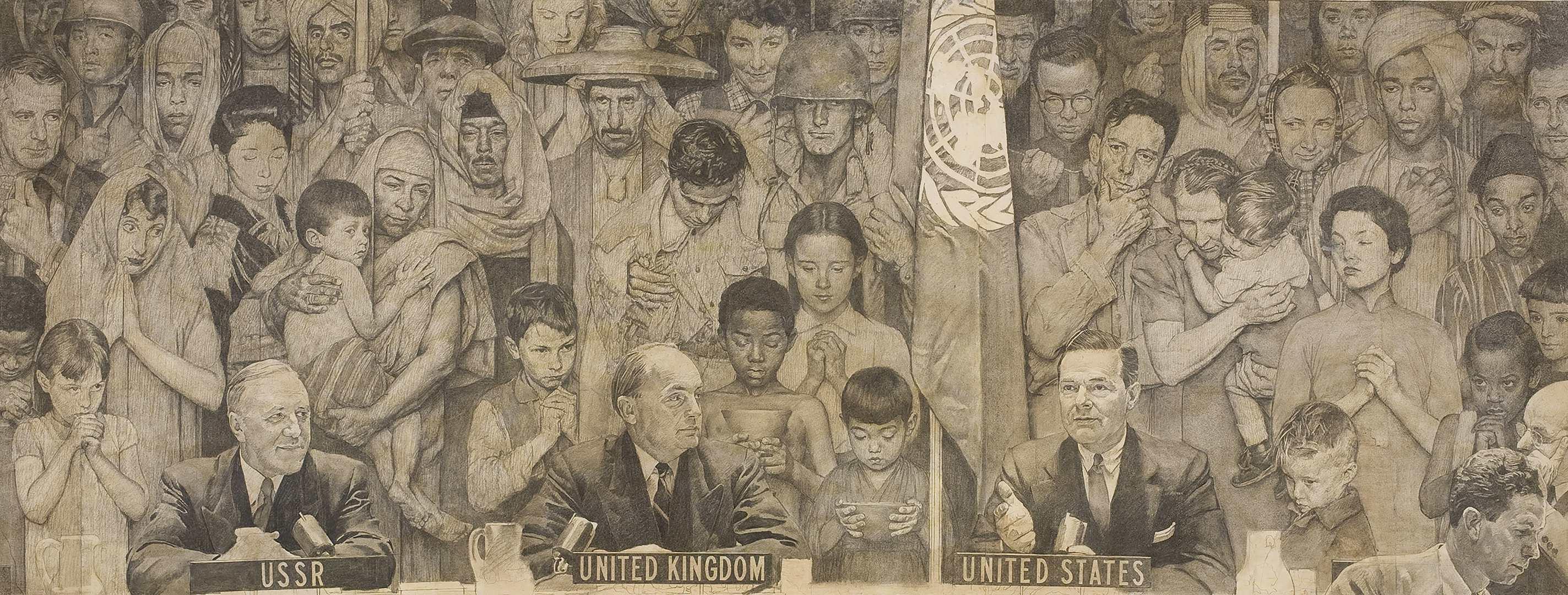 Роквелл UnitedNations 1952
