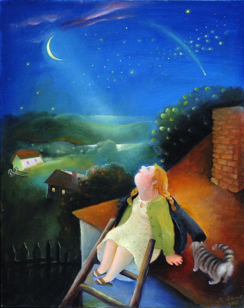 Natasha Villon - Looking to Night Sky